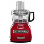 KitchenAid Empire Red 7-Cup Food Processor with ExactSlice System