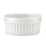The French Chefs Porcelain White Ramekin