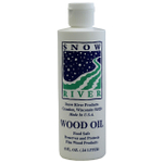 Snow River 8 Ounce Wood Oil Bottle