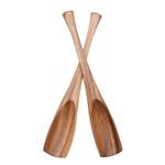 Dansk Wood Classics Acacia Wood 2 Piece Salad Server Set