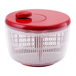 Farberware Professional Hand Crank Red Salad Spinner