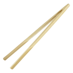 Scandicrafts Bamboo 12 Inch Toast Tongs