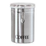 Oggi Stainless Steel 60 Ounce Coffee Canister
