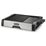 DeLonghi Die-Cast Nonstick 2-in-1 Grill and Griddle with Durastone Plates
