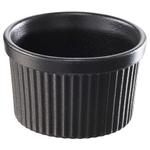 Revol Grands Classiques Black Porcelain 5.75 Ounce Ramekin