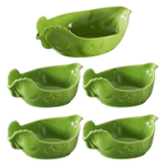 Revol Happy Cuisine Lime Green 5 Piece Poultry Roaster and Side Dish Bake and Serve Set