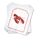 Norpro Plastic Lobster Bib, Set of 4