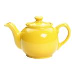 Fox Run Yellow Glazed Earthenware 2 Cup Teapot