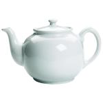 Fox Run White Glazed Earthenware 2 Cup Teapot