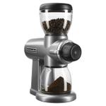 KitchenAid Contour Silver 7 Ounce Burr Coffee Bean Grinder