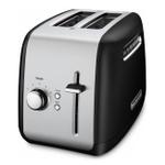 KitchenAid Onyx Black 2-Slice Long Slot Toaster with High Lift Lever
