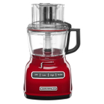 KitchenAid Empire Red 9 Cup Food Processor with ExactSlice System