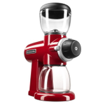 KitchenAid Empire Red 7 Ounce Burr Coffee Bean Grinder