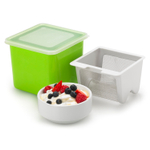 Cuisipro Green Yogurt Cheese Maker with Stainless Steel Mesh Strainer