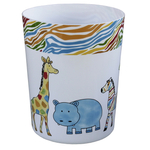 Saturday Knight Limited Safari Animal 9.25 Inch Wastebasket
