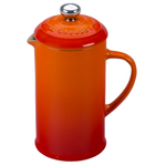 Le Creuset Flame Stoneware 12 Ounce Petite French Press