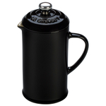 Le Creuset Black Stoneware 12 Ounce Petite French Press