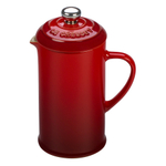 Le Creuset Cherry Stoneware 12 Ounce Petite French Press