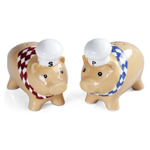 Grasslands Road Chef Pigs Salt and Pepper Shaker Set