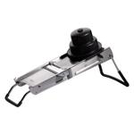 De Buyer La Mandoline Ultra Double Horizontal Blade Slicer with Plastic Pusher