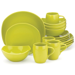 Dansk Classic Fjord Apple Green 16 Piece Dinnerware Set