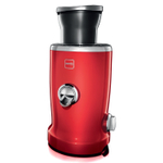 Novis Vita Juicer Cherry Red 4-in-1 Multi-Function Electric Juicer
