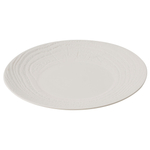 Revol Arborescence Ivory Porcelain 12.25 Inch Charger Plate