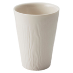 Revol Arborescence Ivory Porcelain 8.75 Ounce Coffee Cup