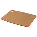 Epicurean Nonslip Series Nutmeg with Red Corners 14.5 x 11.25 Inch Cutting Board