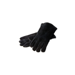 Lodge Black Leather Gloves