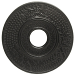 Old Dutch Matte Black Cast Iron Round Hobnail Trivet, 5.5 Inch