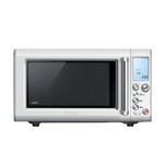 Breville Quick Touch Crisp Microwave Oven with Stainless Steel Accents