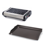 Chef's Choice M880 Professional Cast Iron Indoor Electric Grill with Griddle Plate