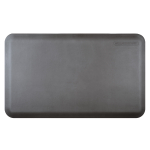 WellnessMats Gray Standard Anti-Fatigue Mat, 3 x 2 Foot