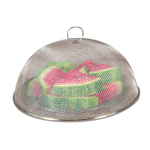 FoxRun Chromed Steel Mesh 11.75 Inch Round Food Cover