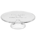 kate spade new york kitchen Words Eat Cake for Breakfast Tiered Cake Plate