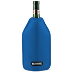 Le Creuset Marseille Blue Wine Bottle Cooler Sleeve