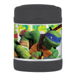 Thermos Funtainer Teenage Mutant Ninja Turtles TV Show Stainless Steel Vacuum Insulated 10 Ounce Food Jar