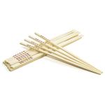 Kitchen Supply Natural Bamboo 10.5 Inch Chopsticks, 10 Pairs