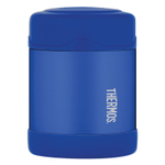 Thermos Funtainer Blue Stainless Steel Vacuum Insulated 10 Ounce Food Jar