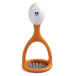 Joie Mashy Stainless Steel 6.5 Inch Egg Masher