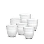 Duralex Gigogne Glass 7.75 Ounce Tumbler, Set of 6