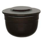 Emile Henry Charcoal Ceramic 7 Ounce Butter Pot