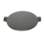 Emile Henry Charcoal Ceramic 9.9 Inch Individual Pizza Stone