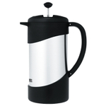 Thermos Stainless Steel and Black Vacuum Insulated 34 Ounce Gourmet Coffee Press