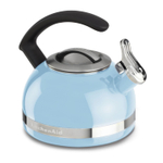 KitchenAid Cameo Blue 2 Quart Kettle with C Handle and Trim Band