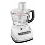 KitchenAid KFP1466WH White 14 Cup Food Processor with ExactSlice System and Dicing Kit