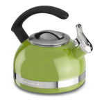 KitchenAid Sunkissed Lime 2 Quart Kettle with C Handle and Trim Band