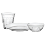 Duralex Lys and Picardie 12 Piece Kids Dishware Set