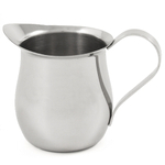 Stainless Steel Bell Creamer Pitcher & Espresso Pitcher, 8 Ounce